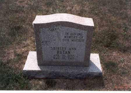 RUTAN, SHIRLEY ANN - Franklin County, Ohio | SHIRLEY ANN RUTAN - Ohio Gravestone Photos