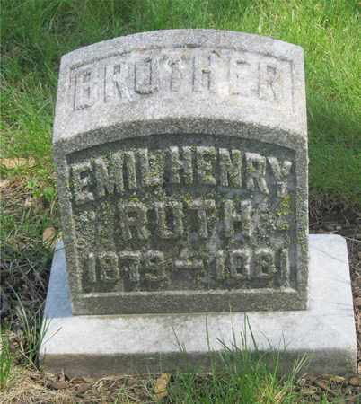 RUTH, EMIL HENRY - Franklin County, Ohio | EMIL HENRY RUTH - Ohio Gravestone Photos