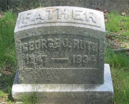 RUTH, GEORGE J. - Franklin County, Ohio | GEORGE J. RUTH - Ohio Gravestone Photos