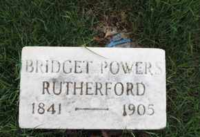 RUTHERFORD, BRIDGET - Franklin County, Ohio | BRIDGET RUTHERFORD - Ohio Gravestone Photos