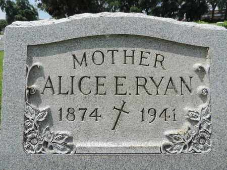 RYAN, ALICE - Franklin County, Ohio | ALICE RYAN - Ohio Gravestone Photos