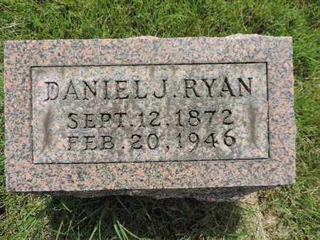 RYAN, DAMIEL J. - Franklin County, Ohio | DAMIEL J. RYAN - Ohio Gravestone Photos