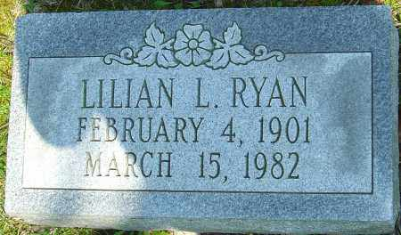 RYAN, LILLIAN L - Franklin County, Ohio | LILLIAN L RYAN - Ohio Gravestone Photos