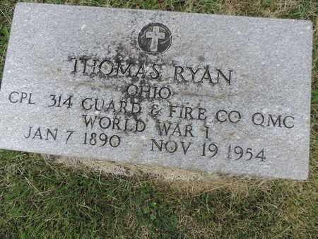 RYAN, THOMAS - Franklin County, Ohio | THOMAS RYAN - Ohio Gravestone Photos