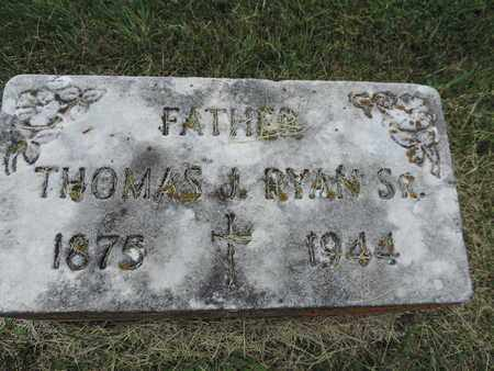 RYAN, THOMAS J. - Franklin County, Ohio | THOMAS J. RYAN - Ohio Gravestone Photos