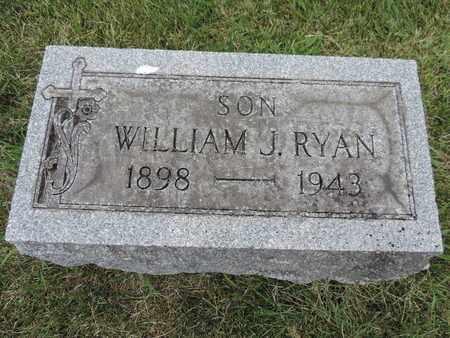 RYAN, WILLIAM J. - Franklin County, Ohio | WILLIAM J. RYAN - Ohio Gravestone Photos