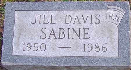 SABINE, JILL - Franklin County, Ohio | JILL SABINE - Ohio Gravestone Photos