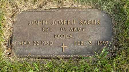 SACHS, JOHN JOSEPH - Franklin County, Ohio | JOHN JOSEPH SACHS - Ohio Gravestone Photos