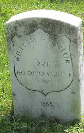 SAILOR, WILLIAM H. - Franklin County, Ohio | WILLIAM H. SAILOR - Ohio Gravestone Photos