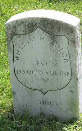 SAILOR, WILLIAM H. - Franklin County, Ohio   WILLIAM H. SAILOR - Ohio Gravestone Photos