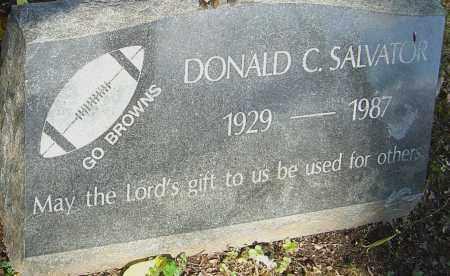 SALVATOR, DONALD - Franklin County, Ohio | DONALD SALVATOR - Ohio Gravestone Photos