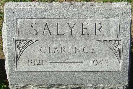 SALYER, CLARENCE - Franklin County, Ohio | CLARENCE SALYER - Ohio Gravestone Photos