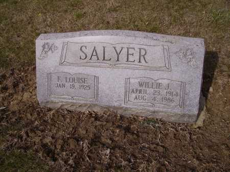 SALYER, F. LOUISE - Franklin County, Ohio | F. LOUISE SALYER - Ohio Gravestone Photos