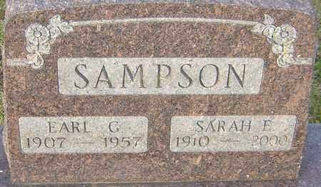 SAMPSON, EARL - Franklin County, Ohio | EARL SAMPSON - Ohio Gravestone Photos