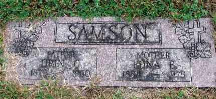 SAMSON, ORIN C. - Franklin County, Ohio | ORIN C. SAMSON - Ohio Gravestone Photos