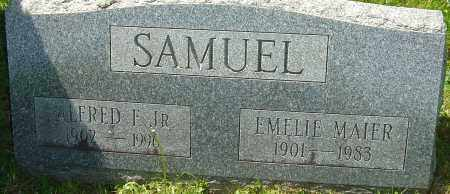 SAMUEL JR, ALFRED F - Franklin County, Ohio | ALFRED F SAMUEL JR - Ohio Gravestone Photos