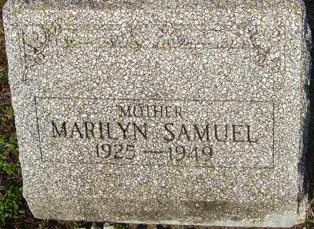 SMITH SAMUEL, MARILYN - Franklin County, Ohio | MARILYN SMITH SAMUEL - Ohio Gravestone Photos