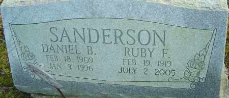 SANDERSON, RUBY - Franklin County, Ohio | RUBY SANDERSON - Ohio Gravestone Photos