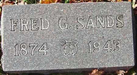 SANDS, FRED G - Franklin County, Ohio | FRED G SANDS - Ohio Gravestone Photos