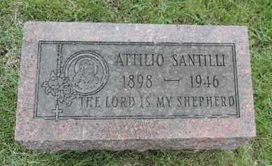SANTILLI, ATTILIO - Franklin County, Ohio | ATTILIO SANTILLI - Ohio Gravestone Photos