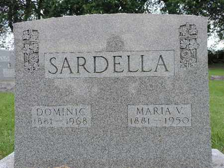 SARDELLA, MARIA V. - Franklin County, Ohio | MARIA V. SARDELLA - Ohio Gravestone Photos