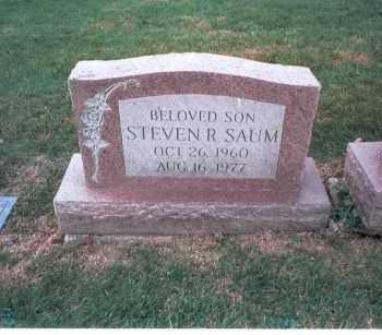 SAUM, STEVEN R. - Franklin County, Ohio | STEVEN R. SAUM - Ohio Gravestone Photos