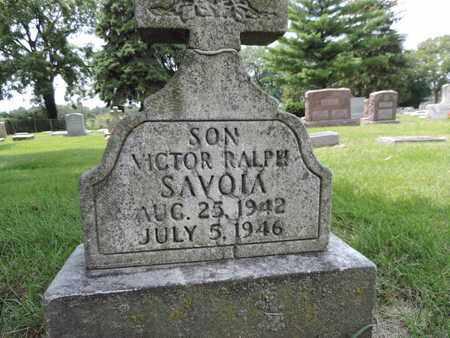 SAVOIA, VICTOR RALPH - Franklin County, Ohio | VICTOR RALPH SAVOIA - Ohio Gravestone Photos