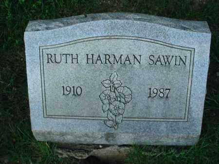 SAWIN, RUTH - Franklin County, Ohio | RUTH SAWIN - Ohio Gravestone Photos