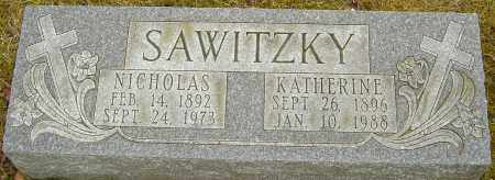 SAWITZKY, KATHERINE - Franklin County, Ohio | KATHERINE SAWITZKY - Ohio Gravestone Photos