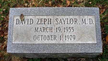 SAYLOR, DAVID ZEPH - Franklin County, Ohio | DAVID ZEPH SAYLOR - Ohio Gravestone Photos