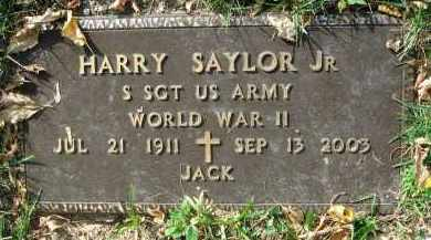SAYLOR, HARRY - Franklin County, Ohio | HARRY SAYLOR - Ohio Gravestone Photos