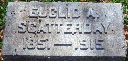 SCATTERDAY, EUCLID A - Franklin County, Ohio | EUCLID A SCATTERDAY - Ohio Gravestone Photos