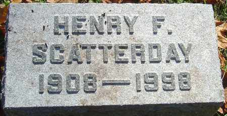 SCATTERDAY, HENRY FLOYD - Franklin County, Ohio | HENRY FLOYD SCATTERDAY - Ohio Gravestone Photos