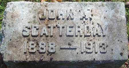 SCATTERDAY, JOHN A - Franklin County, Ohio | JOHN A SCATTERDAY - Ohio Gravestone Photos