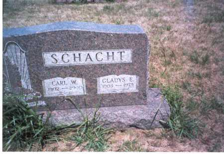 SCHACHT, CARL W. - Franklin County, Ohio | CARL W. SCHACHT - Ohio Gravestone Photos