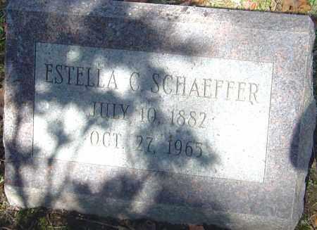 SCHAEFFER, ESTELLA C - Franklin County, Ohio | ESTELLA C SCHAEFFER - Ohio Gravestone Photos