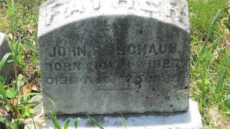 SCHAUB, JOHN - Franklin County, Ohio | JOHN SCHAUB - Ohio Gravestone Photos