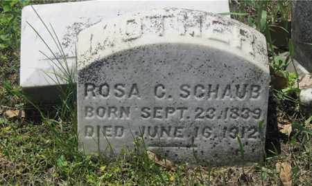 SCHAUB, ROSA C. - Franklin County, Ohio | ROSA C. SCHAUB - Ohio Gravestone Photos