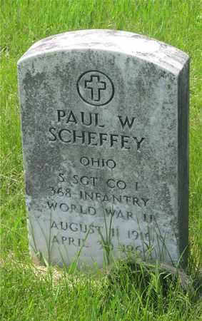 SCHEFFEY, PAUL W. - Franklin County, Ohio | PAUL W. SCHEFFEY - Ohio Gravestone Photos