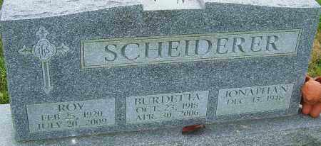 SCHEIDERER, ROY - Franklin County, Ohio | ROY SCHEIDERER - Ohio Gravestone Photos