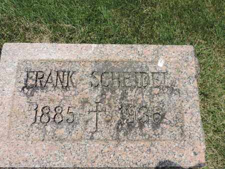 SCHELDEL, FRANK - Franklin County, Ohio | FRANK SCHELDEL - Ohio Gravestone Photos