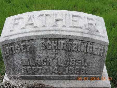 SCHIRTZINGER, JOSEPH - Franklin County, Ohio | JOSEPH SCHIRTZINGER - Ohio Gravestone Photos