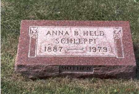 PESTEL SCHLEPPI, ANNA B. - Franklin County, Ohio | ANNA B. PESTEL SCHLEPPI - Ohio Gravestone Photos