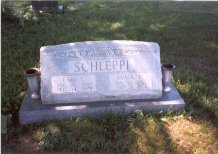 SCHLEPPI, CARL L. - Franklin County, Ohio | CARL L. SCHLEPPI - Ohio Gravestone Photos