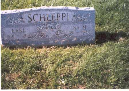 SCHLEPPI, INA M. - Franklin County, Ohio | INA M. SCHLEPPI - Ohio Gravestone Photos