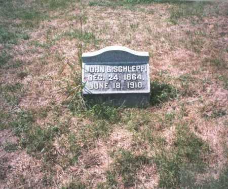 SCHLEPPI, JOHN G. - Franklin County, Ohio | JOHN G. SCHLEPPI - Ohio Gravestone Photos