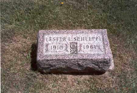 SCHLEPPI, LESTER L. - Franklin County, Ohio | LESTER L. SCHLEPPI - Ohio Gravestone Photos