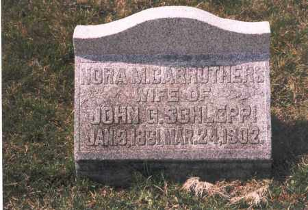 CARRUTHERS SCHLEPPI, NORA M. - Franklin County, Ohio | NORA M. CARRUTHERS SCHLEPPI - Ohio Gravestone Photos