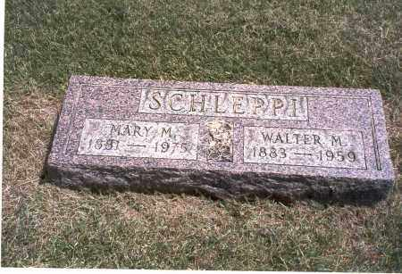 SCHLEPPI, WALTER M. - Franklin County, Ohio | WALTER M. SCHLEPPI - Ohio Gravestone Photos