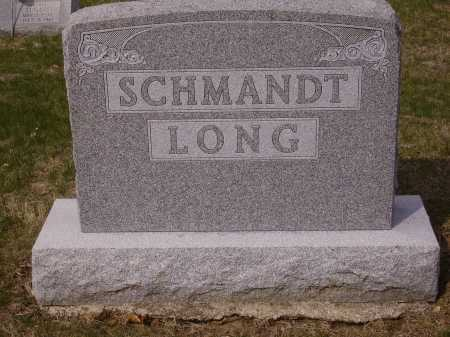 LONG SCHMANDT, MONUMENT - Franklin County, Ohio | MONUMENT LONG SCHMANDT - Ohio Gravestone Photos